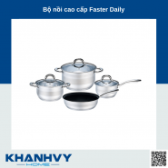 Bộ nồi cao cấp Faster Daily